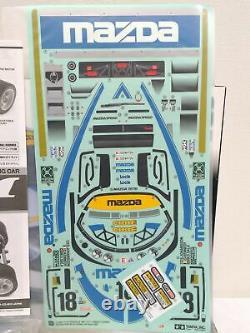 Tamiya 1/12 Rc Mazda 787b N° 18 Le Mans 1991 Rm-01 Chassis Model Kit 58555