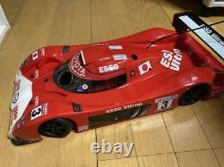 Tamiya 1/8 Tgr Racing Car Chassis Used Rare Du Japon