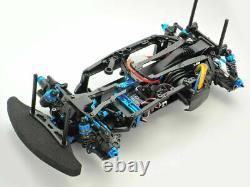 Tamiya 47445 Rc Chassis Kit 1/10 4wd High Performance Racing Car Ta07rr Nouveau