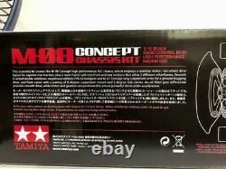 Tamiya M-08 Concept Chassis Kit Radio Control Rwd High Performance Racing Car