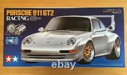 Tamiya Porsche 911 Gt2 Racing 1/10 Rc Car, Châssis Ta02sw, Kit No 47321 Nouveau