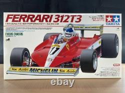 Tamiya Rc 1/10 Ferrari 312t3 F-1 Modèle De Voiture De Course Kit F103rs Châssis 49191