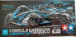 Tamiya Rc 1/10 Formula E Gen2 Racing Car Kit 4wd Tc-01 Châssis #58681