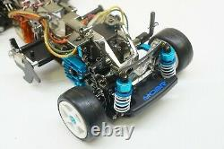 Tamiya Rover Mini Cooper Racing Roue Avant Drive 2wd Rc Voiture M-03r Châssis M03r