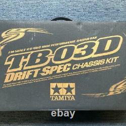 Tamiya Tb-03d Drift Spec Châssis Kit 1/10 R/c 4wd Voiture De Course Haute Performance