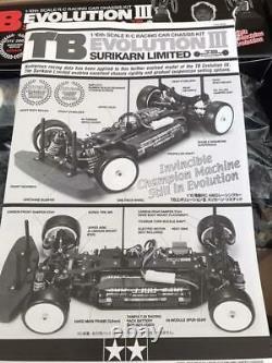 Tamiya Tb Evolution III Surikarn Limited 1/10ème Échelle R / C Racing Kit Châssis De Voiture De Course