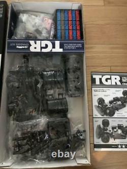 Tamiya Tgr 1/8 Kit Châssis 1/8e Échelle Glow Engine Rc 4wd Racing Car Toy Rare