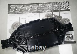 Tamiya Tt-02 Chassis Frame Kit 4wd Rc On Road Racing Touring Car