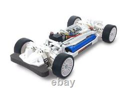 Tamiya Tt-02 Châssis Kit Blanc Special 1/10ème Échelle R/c 4wd Racing Car