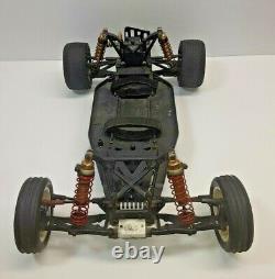 Team Losi XX Buggy, Vintagerc, Custom, Voiture De Course À La Retraite, Graphite Chassis-roller