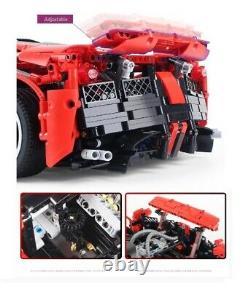 Technic La Ferrari 10248 Voiture De Course Enzo Racers 8653 Rare Limited Building Set Nib