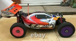Thunder Tiger Eb4 S3 1/8 Voiture 4wd Hors Route Nitro Racing Rc Buggy Rolling Chassis
