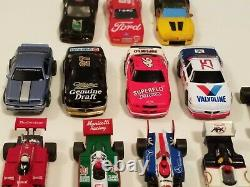 Tomy Afx Mega G+ Plus Tyco Ho Scale Race Track Slot Car Body Chassis Lot