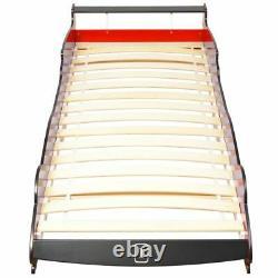 Voiture Design Bed Frame Enfants Chambre À Coucher Enfants Single Racing Bed With Led New
