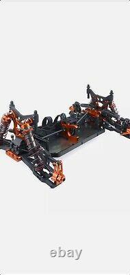 Zd Racing 1/8 4x4 Brushless Electric Truck Metal Frame 100km/h Rc Car