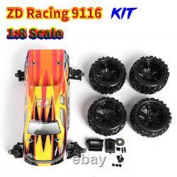 Zd Racing 9116 18 Cadre De Châssis En Métal Rc Voiture De Course De Qualité Professionnelle Kit