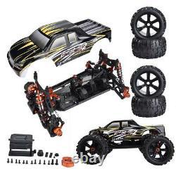 Zd Racing 9116-v3 1/8 Electric Drift 4wd Car Frame Diy Kit 100km/h Rc Car HP