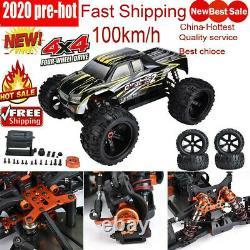 Zd Racing 9116-v3 1/8 Rc Voiture 100 Kmh Drift 4 Roues Motrices Camion Électrique Cadre Véhicule