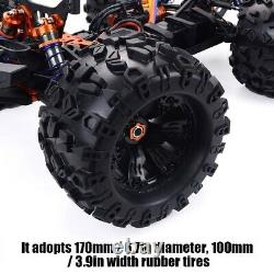 Zd Racing Camouflage Mt8 Pirates3 1/8 4 Roues Motrices 90 Kmh Monster Truck Rc Voiture Cadre Kit